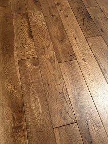 NATURE 120MM SOLID OAK GOLDEN COLOUR BRUSHED &LACQUERED