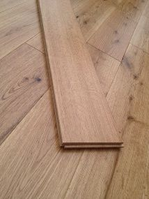 NATURE 120MM SOLID OAK RUSTIC  LACQUERED