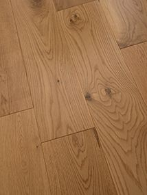 NATURE 130MM SOLID OAK RUSTIC LACQUERED