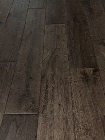 NATURE 130MM SOLID OAK SMOKED HANDSCRAPED LACQUERED