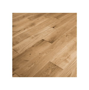NATURE 110 MM SOLID OAK RUSTIC  LACQUERED